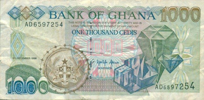 Ghana 1000 Cedis