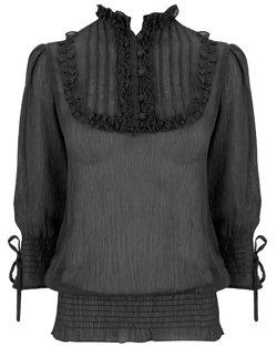 Black gothic blouse