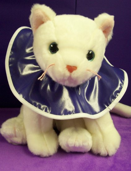 Purple Kitten Bib