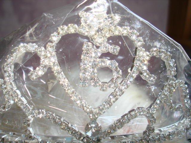 Rhinestone Crystal Sweet 15/16 or  Wedding, Pageant Tiara, Crown