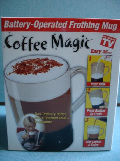 Magic Coffee Maker cup-Frothing Mug for gourmet treat