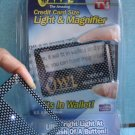 2 New & sealed-Wallet Vision- Credit Card size Llight & Magnet