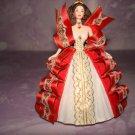 $12.99-1997Holiday Barbie Ornament 5th Series Ribbon Hallmark