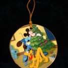 $14.99 New in Box-1996 Pluto's Christmas Tree-Walt Disney-Collectible Christmas Ornament