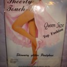 $ 2.99 New&sealed-1pair Queen size-Black Shimmery Glitter Fashion Pantyhose -XXL