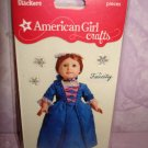 $1.5  for 5 piece- American Girl Crafts Felicity Merriman doll 3D Bubble Stickers