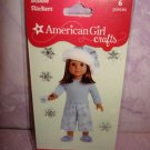 $ 1.5 for 6 piece- American Girl Crafts Pj doll 3D Bubble Stickers