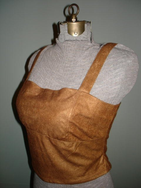 $12.99 Renaissance Goth Fitted Corset Bodice Vest Curves Corset,Tank top-New&Tag XL size