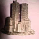 $17.99_3 New-WTC_Twin Towers World Trade Center New York Pin Brochet in Silver color 9/11