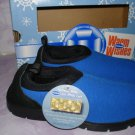 Dr Scholls Shoes, Toasty Moc Gel NIB size 2 in Royal Blue/black color