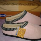 $19.99 free ship Dr Scholls Shoes, Toasty Moc Gel NIB size 6 M in orchid pink.