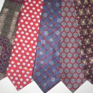 MENS DESIGNER EXECUTIVE COLLECTION SILK TIES LOT
