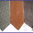 NEW DESIGNER COLLECTION CALVIN KLEIN etc SILK NECK TIES