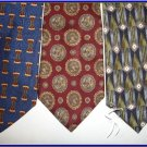 NEW BILL BLASS VAN HEUSEN COCKTAIL COLLECTION SILK TIES