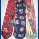 MENS GOLF BASEBALL COW BOY GEAR COTTON NECK TIES