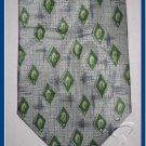MEN NEW W/TAG STACY ADAMS DIMAMOND PATTERN ART SILK TIE