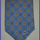 NEW EXECUTIVE DESIGNER STYLE SILK TIE BLUE CIRCLES