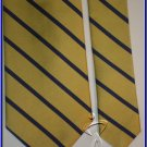 MENS NEW JOS A BANK SILK NECK TIE YELLOW BLUE STRIPES