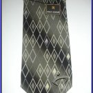 MENS NEW W/TAG STACY ADAM SILK TIE PLAID SUIT NECKTIE