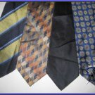 LANDSEND etc CRISP WOVEN DESIGNER COLLECTION SILK TIES
