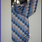NEW STEVE HARVEY SILK TIE HANKY POLKA DOTS CIRCLES