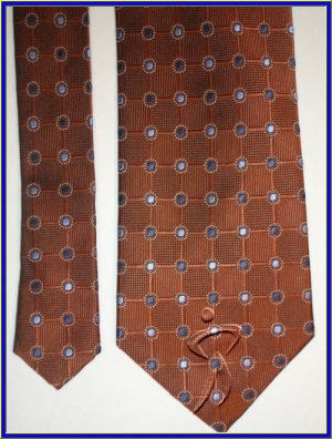 MENS NEW JOS A BANK SILK NECK TIE CRISP WOVEN DOTS