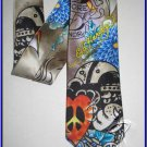 MENS NEW W/TAG ED HARDY CHRISTIAN AUDIGIER SILK TIE NR