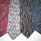 MENS DESIGNER EXECUTIVE COLLECTION SILK NECK TIES WEAR