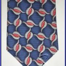 NEW EXECUTIVE DESIGNER STYLE SILK TIE BLUE KNOT WEDDING