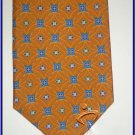 NEW EXECUTIVE DESIGNER STYLE SILK TIE BLUE DIAMONDS CIR