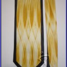NEW EXECUTIVE DESIGNER ART DECO RUSH SILK TIE WEDDING