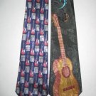 MENS MUSIC MUSICAL GUITARS SINGING GROUP NECK TIES LOT
