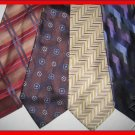 MENS DESIGNER KENNETH COLE STUDIO CRISP WOVEN SILK TIES