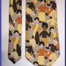NEW SAVE THE CHILDREN SILK TIE HELPING TOGETHER KIDS