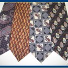 MENS ADOLFO BILL BLASS etc EXECUTIVE DESIGNER SILK TIES