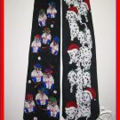 MENS SANTA 101 DALMATIANS BASEBALL BEARS NOVELTY TIES