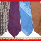 MEN RETRO RARE VINTAGE 1980s 1970s WIDE FATTY NECK TIES