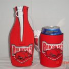 UNIVERSITY OF ARKANSAS Razorbacks Bottle & Can Koozie