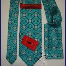 NEW STEVE HARVEY SILK TIE HANKY CODE RED DESIGNER EXECU