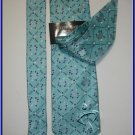 NEW STEVE HARVEY SILK TIE HANKY EXECUTIVE DESIGNER