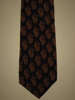 MENS J. JERRY GARCIA ABSTRACT ART DESERT STROM SILK TIE