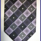 NEW BERGAMO HANKY CUFFLINK TIE SET CHECKERS STRIPES