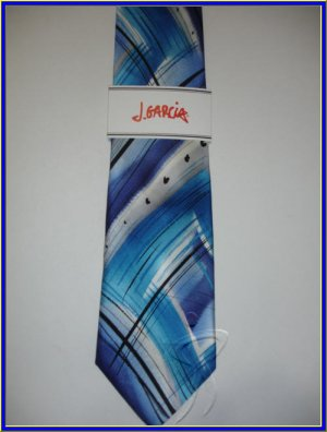 NEW J. JERRY GARCIA SILK TIE TROLL COLLECTION 43 ART DE
