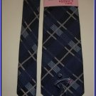 NEW BREAST CANCER KNOTS OF HOPE SILK TIE PLAID KOMEN