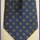 MENS NEW JOS A BANK FLOWERS CRISP WOVEN SUIT SILK TIE