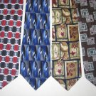 MENS PIERRE CARDIN JIMMY COCKTAIL COLLECTIONS SILK TIES