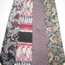 MENS DESIGNER PAISLEY ART DECO COLLECTION SILK TIES NR