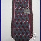 MENS NEW STACY ADAMS ABSTRACT ART DECO SILK NECK TIE