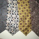 MENS EXECUTIVE DESIGNER PAISLEY ART DECO SILK TIES