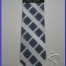 MENS NEW W/TAG STACY ADAMS PAISLEY ART DECO SILK TIE